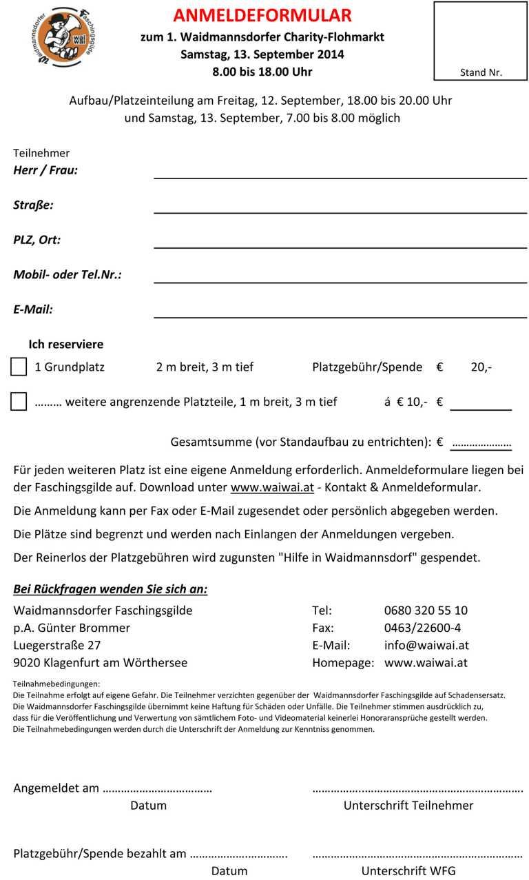 K1024_Anmeldeformular zum Flohmarkt 2014