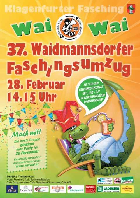 Waidmannsdorfer Faschingsgilde-Plakat A0.indd