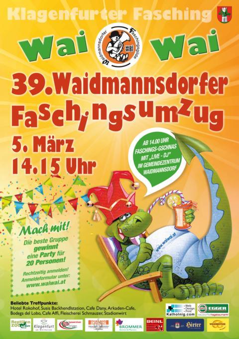 Wai Wai - 39. Waidmannsdorfer Faschingsumzug